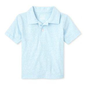 NWT Children's Place Cloud Blue Polo Shirt 3T